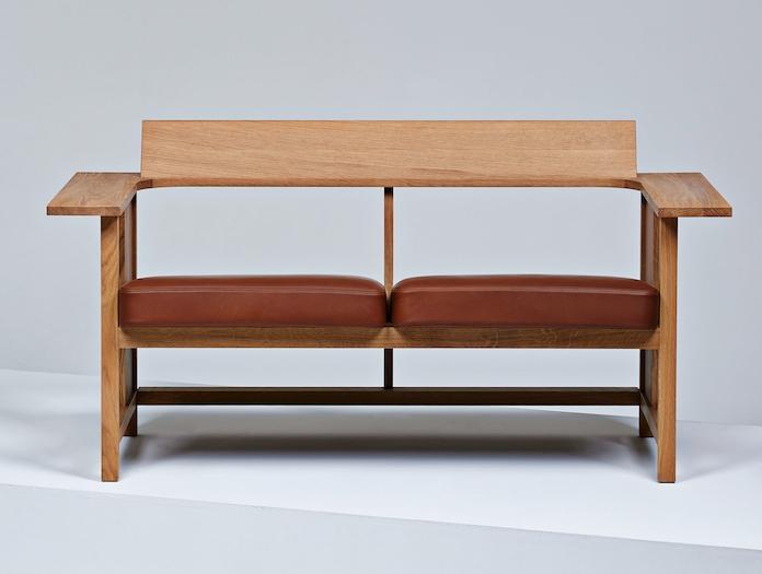 Mattiazzi Clerici Lounge 2 Seater Upholstered Konstantin Grcic