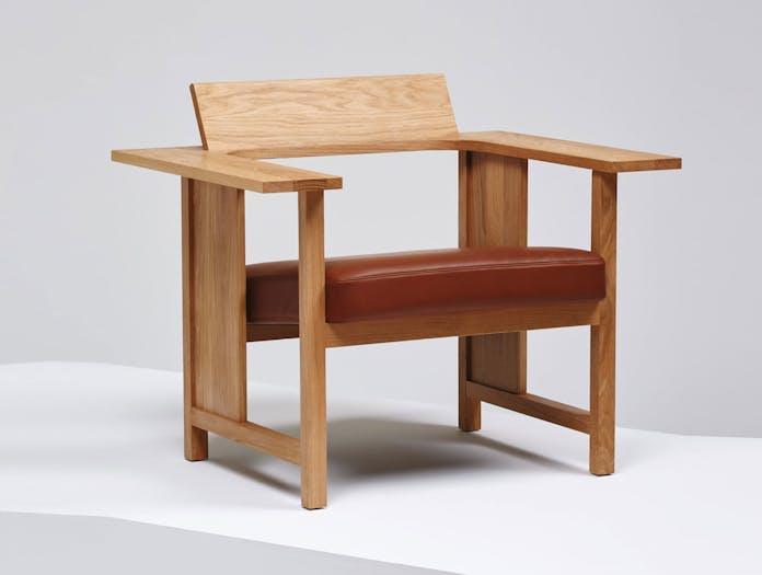 Mattiazzi Clerici Lounge Chair Oak Upholstered Konstantin Grcic
