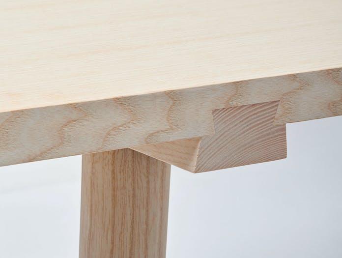 Mattiazzi Facile Table Joint Detail Lambl Homburger Meyer