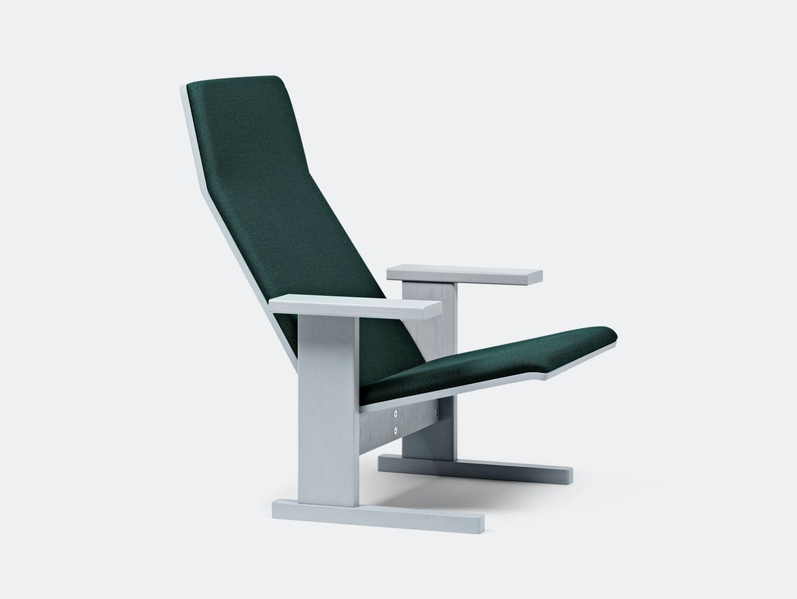 Mattiazzi Quindici Lounge Chair Upholstered Ronan Erwan Bouroullec