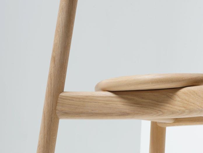 Mattiazzi Solo Chair Oak Detail Studio Nitzan Cohen