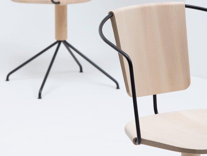 Mattiazzi Uncino Chair Ash Detail Ronan Erwan Bouroullec