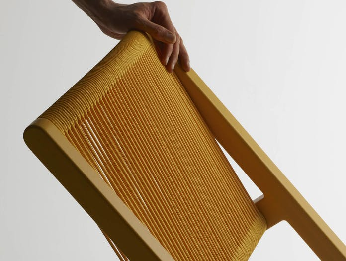 Mattiazzi filo chair yellow cu