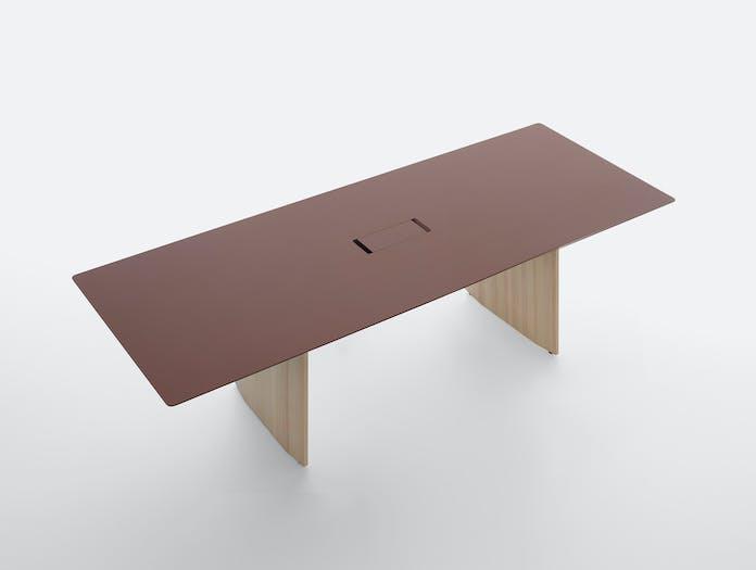 Mattiazzi fronda desk rosso jaipur 240