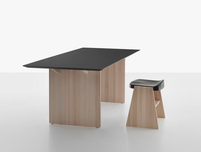 Mattiazzi fronda table black pine ls 8