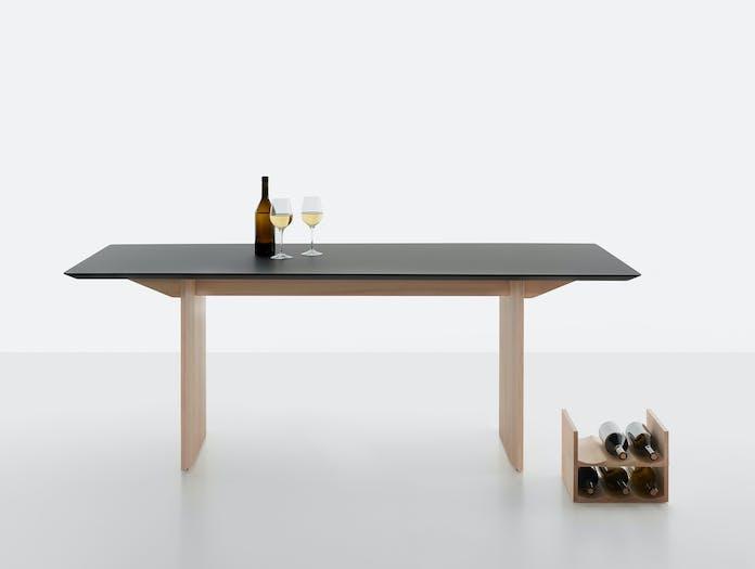 Mattiazzi fronda table black pine ls