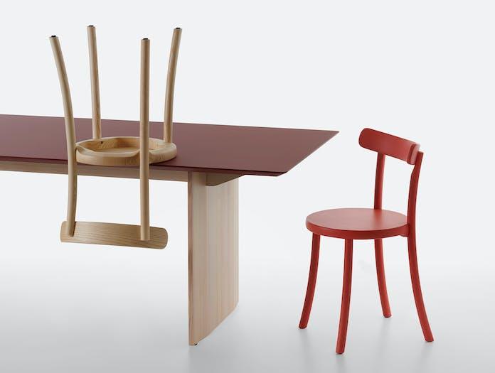 Mattiazzi fronda table rosso jaipur pine ls 8