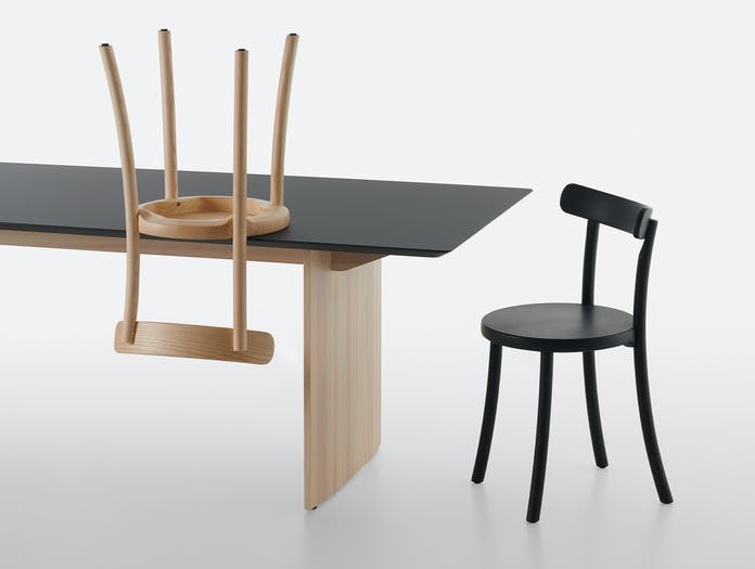 Mattiazzi zampa chair fronda table