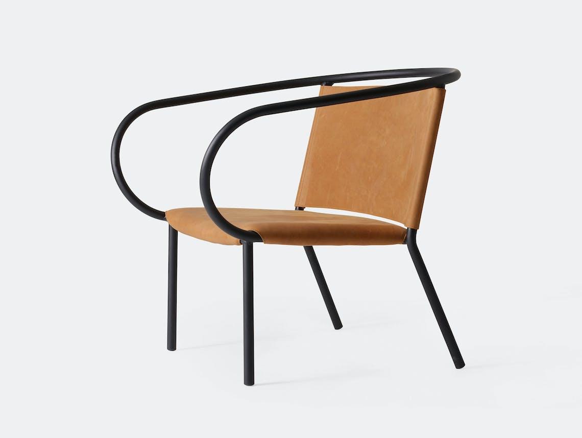 Menu Afteroom Lounge Chair Cognac Leather