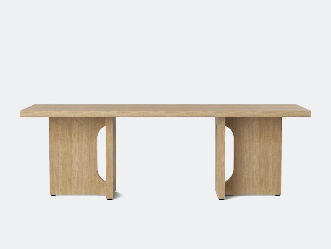 Menu androgyne lounge table natural oak front