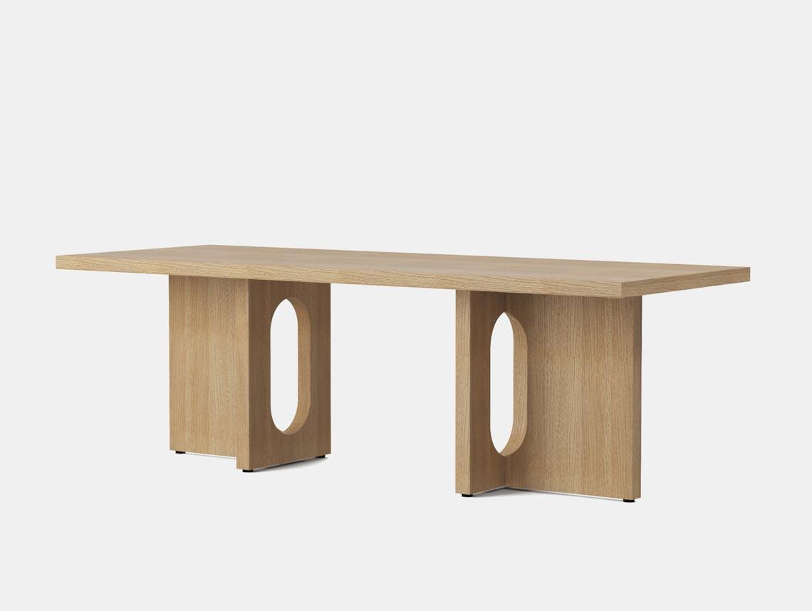 Menu androgyne lounge table natural oak side