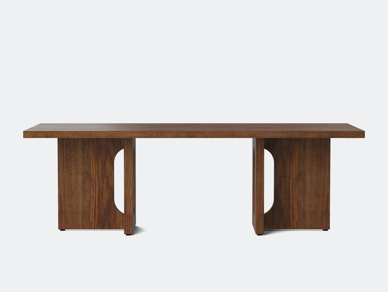 Menu androgyne lounge table walnut front