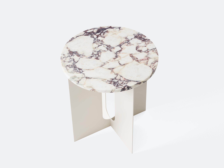 Menu androgyne side table ivory calacatta viola marble 02