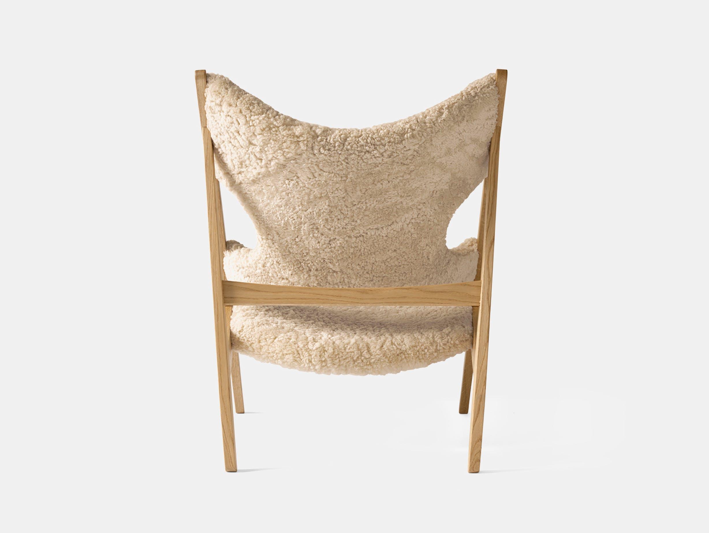 Menu knitting lounge chair natural oak nature bck