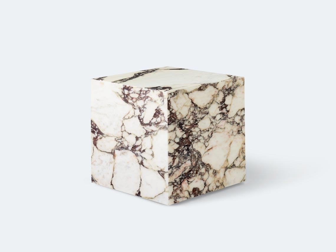 Menu plinth cubic calaccata viola