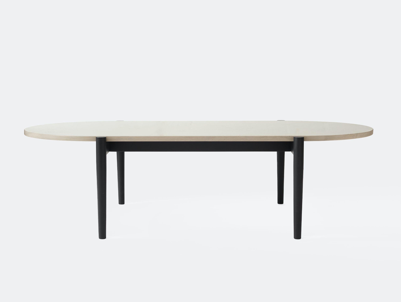 Menu septembre lounge table azul marble front