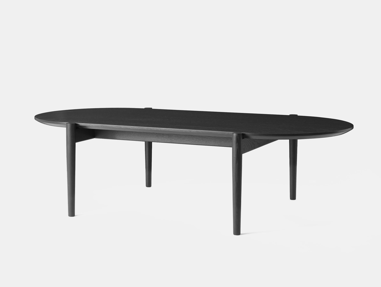 Menu septembre lounge table black ash side