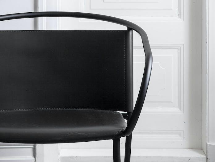 Menu Afteroom Lounge Chair Black Detail