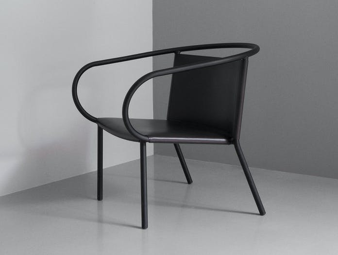 Menu Afteroom Lounge Chair Black