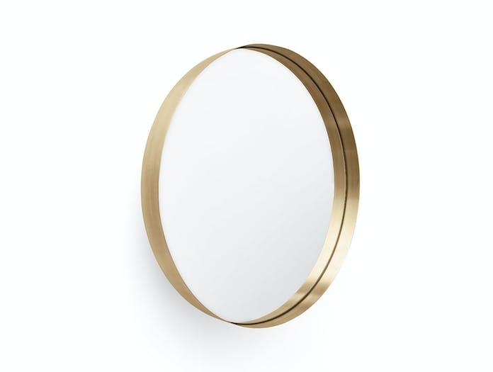 Menu Darkly Mirror Brass Nick Ross