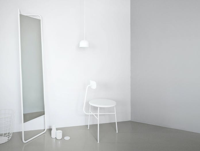 Menu Kasch Kasch Floor Mirror White 2