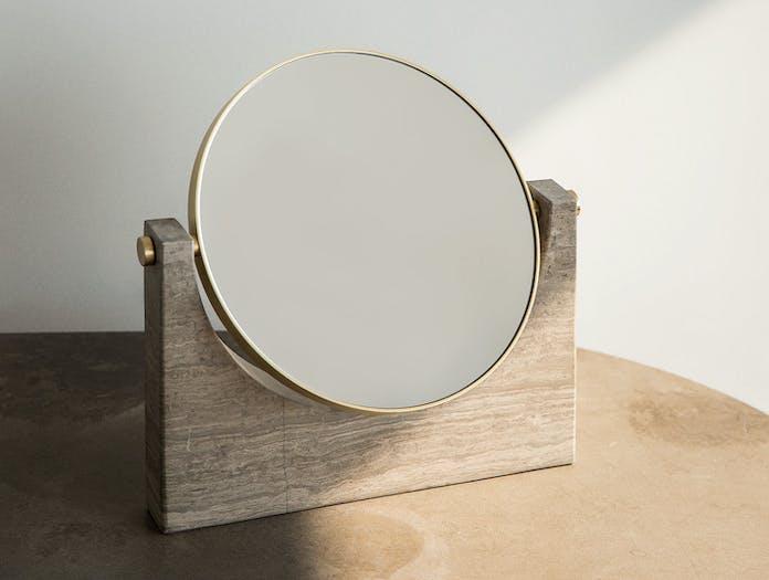 Menu Pepe Marble Mirror Brown Studiopepe