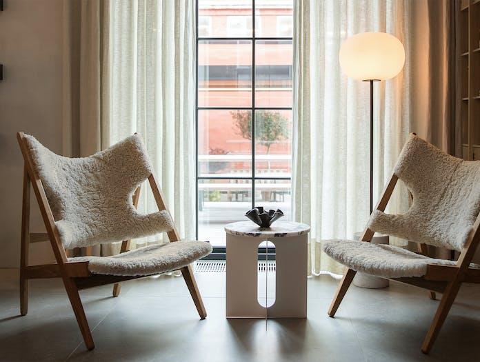 Menu knitting lounge chair story 5