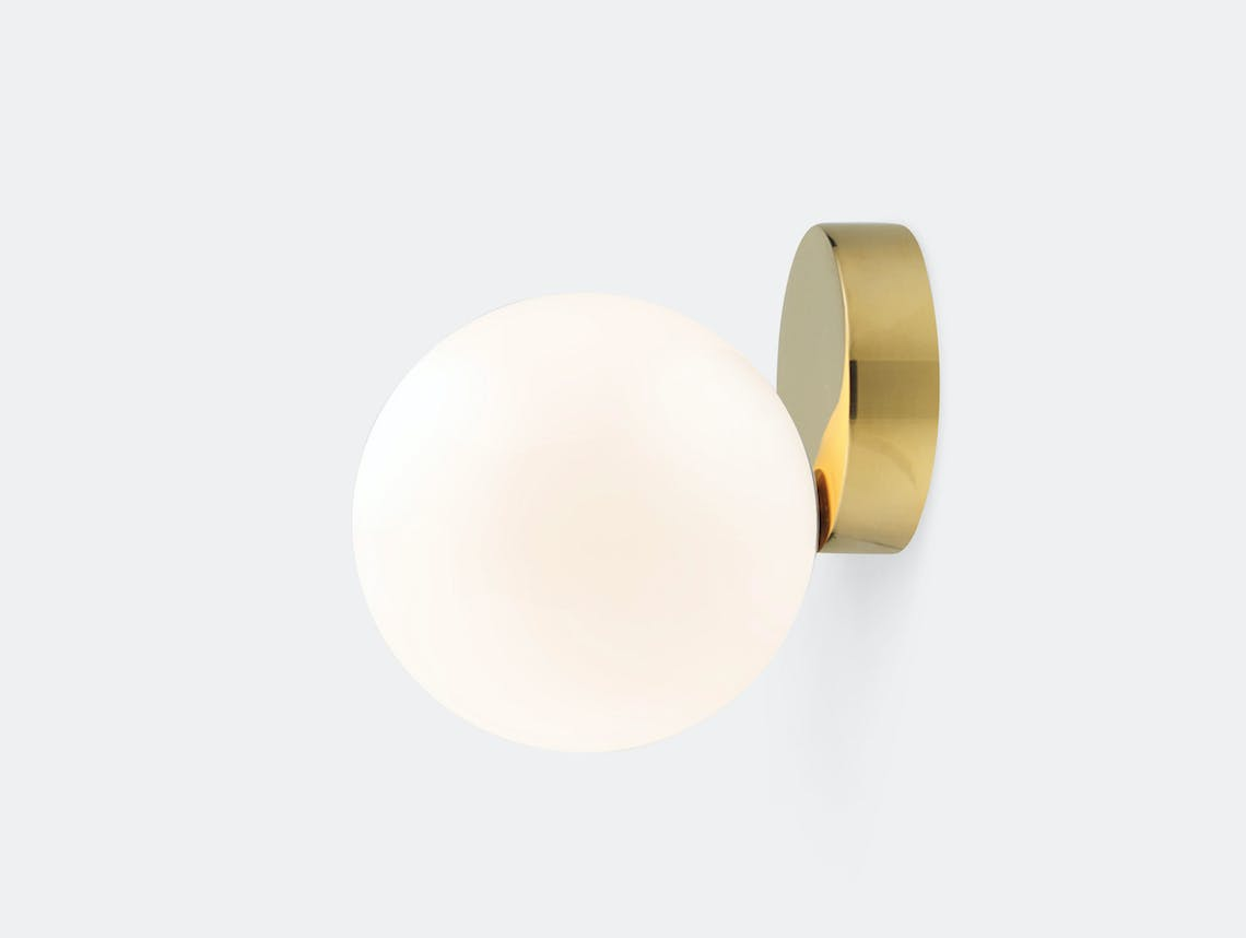 Michael Anastassiades Tip Of The Tongue Wall Lamp Brass
