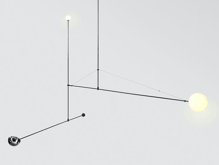 Michael Anastassiades Mobile Chandelier 1 Detail