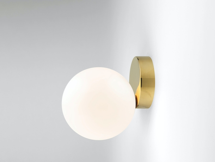 Michael Anastassiades Tip Of The Tongue Wall Lamp Brass A