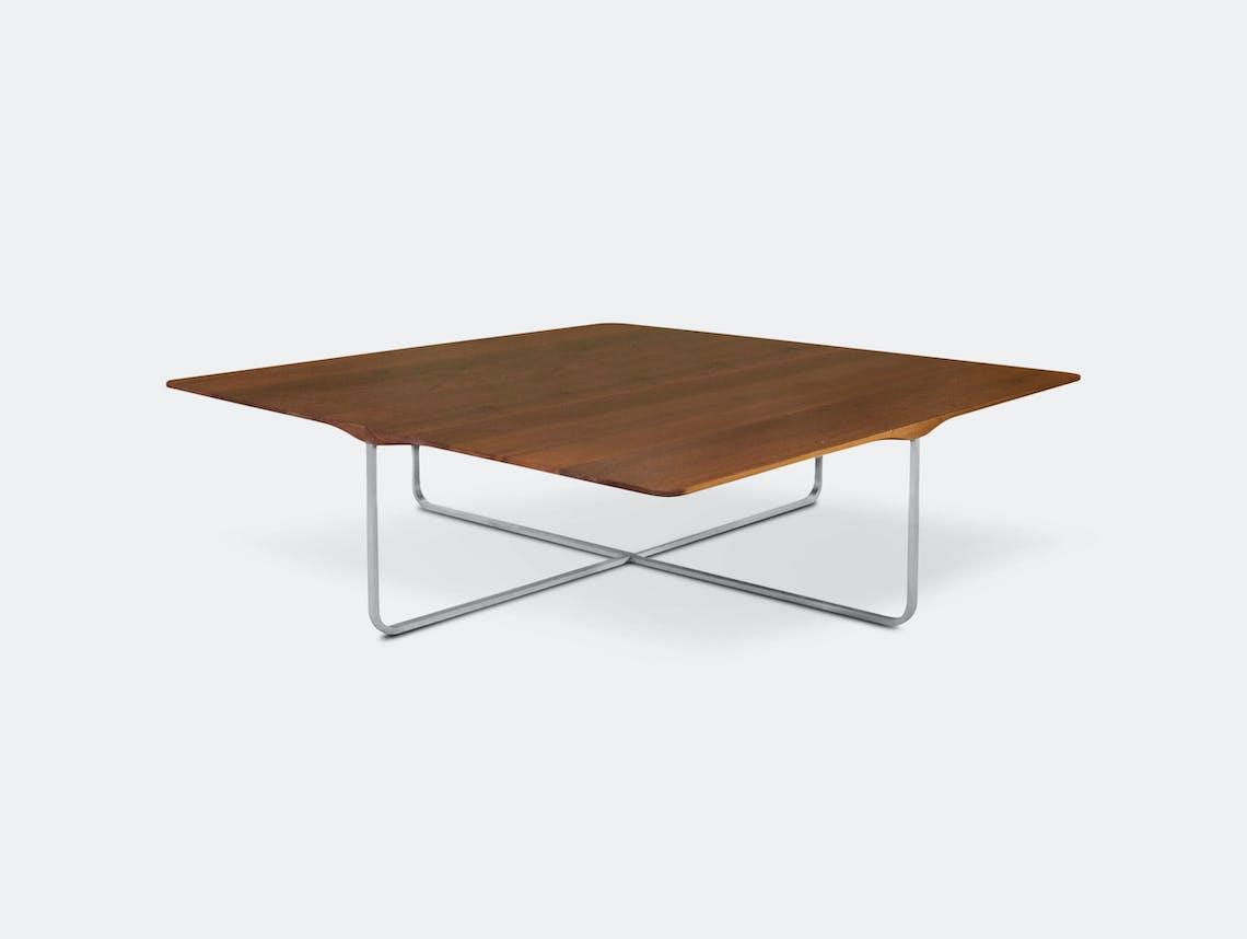 Montis Flint Coffee Table Walnut Square Gert Batenburg