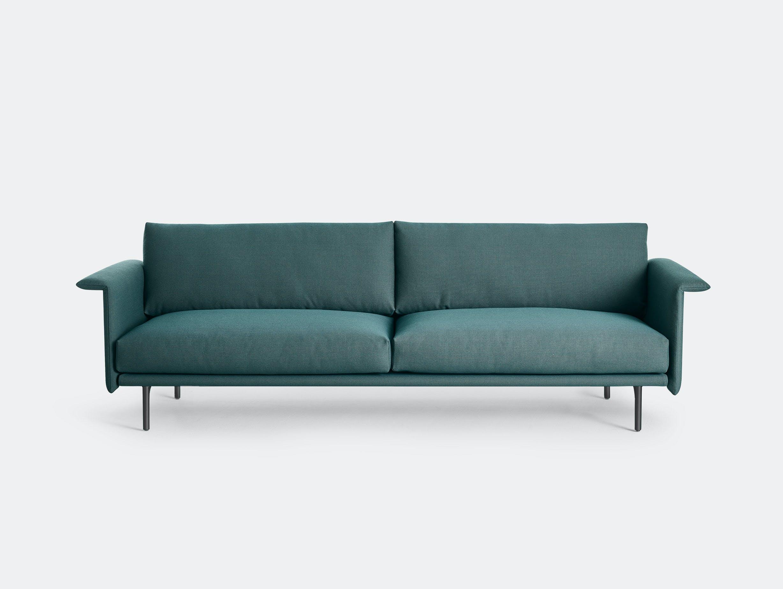 Montis otis sofa 2 seater steelcut trio 996 black base