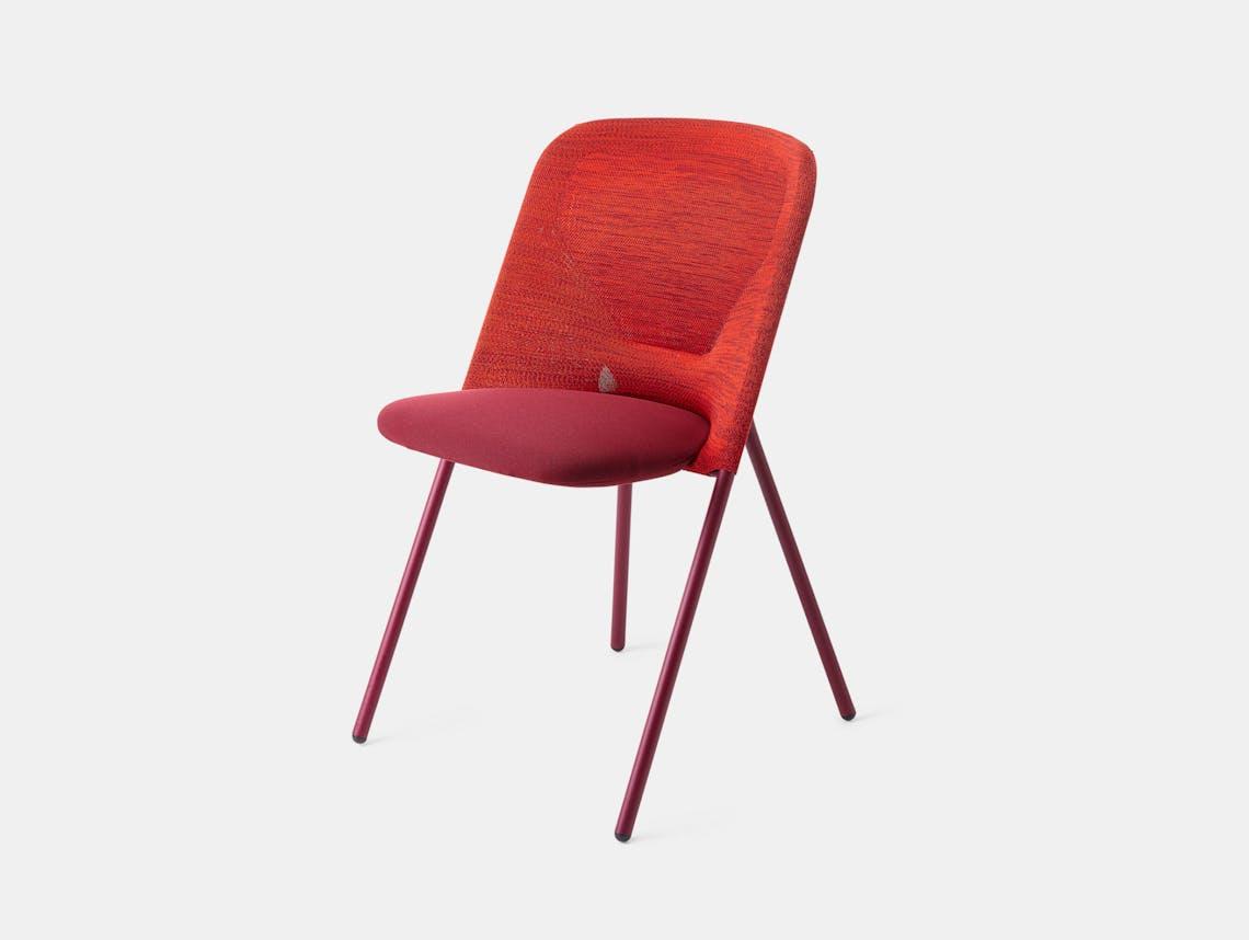 Moooi Shift Dining Chair Red Jonas Forsman