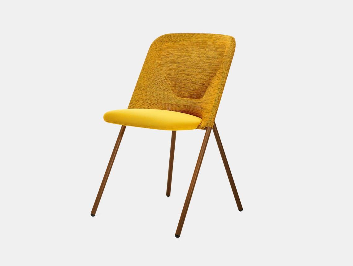 Moooi Shift Dining Chair Yellow Jonas Forsman