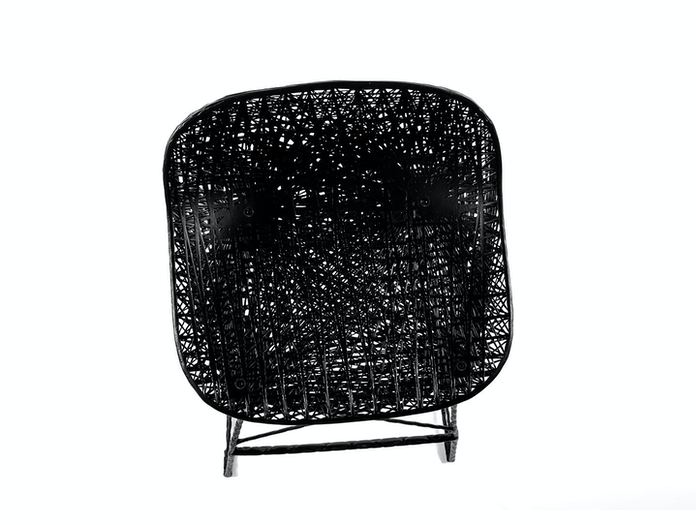 Moooi Carbon Bar Stool Seat Detail Bertjan Pot