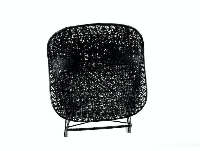 Moooi Carbon Bar Stool Seat Detail Bertjan Pot