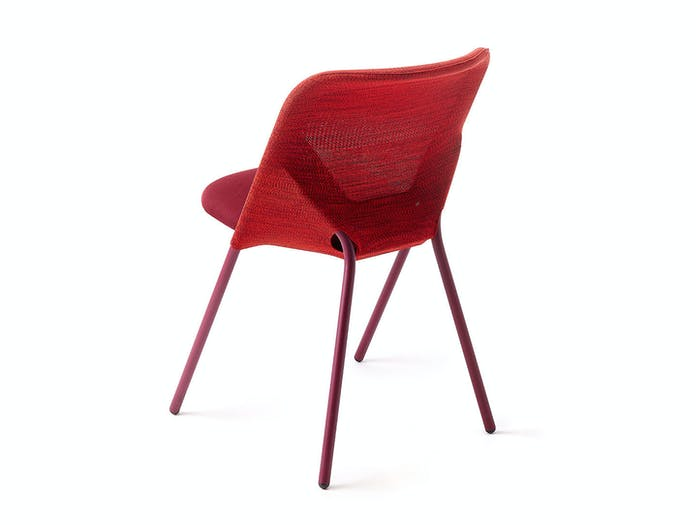 Moooi Shift Dining Chair Red Back Jonas Forsman