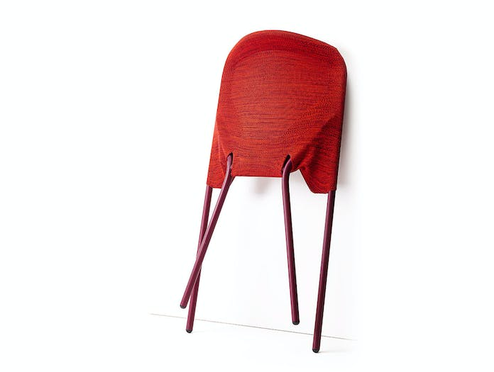 Moooi Shift Dining Chair Red Folded Jonas Forsman