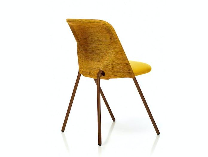 Moooi Shift Dining Chair Yellow Back Jonas Forsman