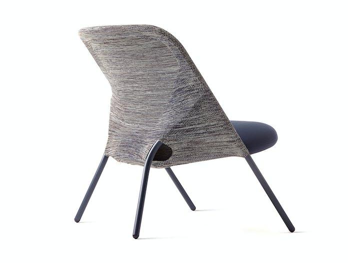 Moooi Shift Folding Lounge Chair Back Jonas Forsman