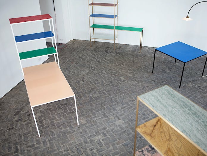 Muller Van Severen Rack And Table 4 Fien Muller Hannes Van Severen