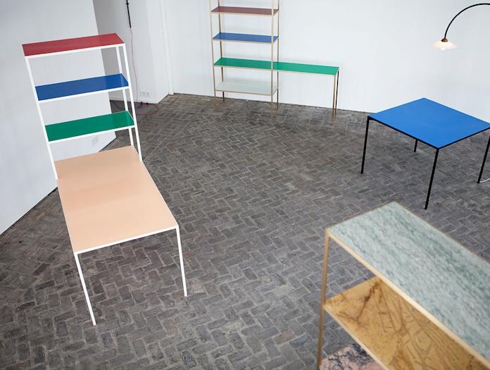Muller Van Severen Rack And Table 4 Fien Muller Hannes Van Severen