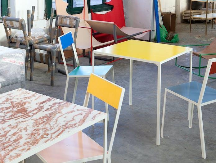 Muller Van Severen Table S Studio Fien Muller Hannes Van Severen