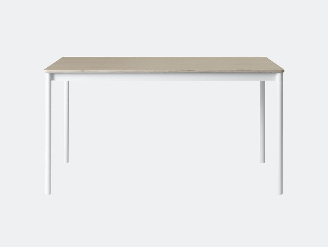 Muuto Base Table 140X80 Oak Wb Mika Tolvanen