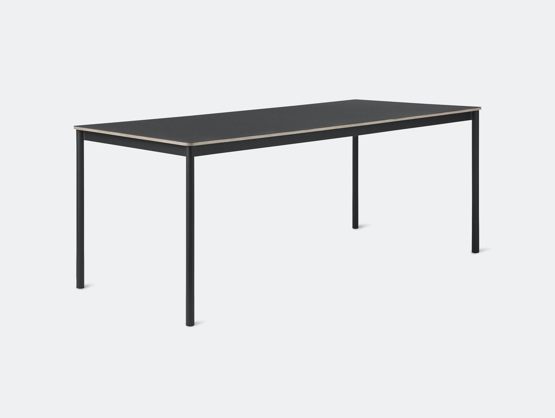 Muuto Base Table Black Mika Tolvanen