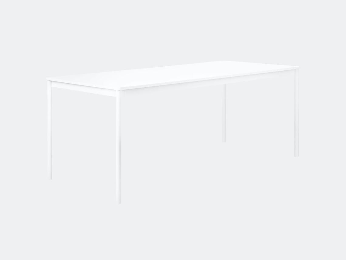 Muuto Base Table White Mika Tolvanen