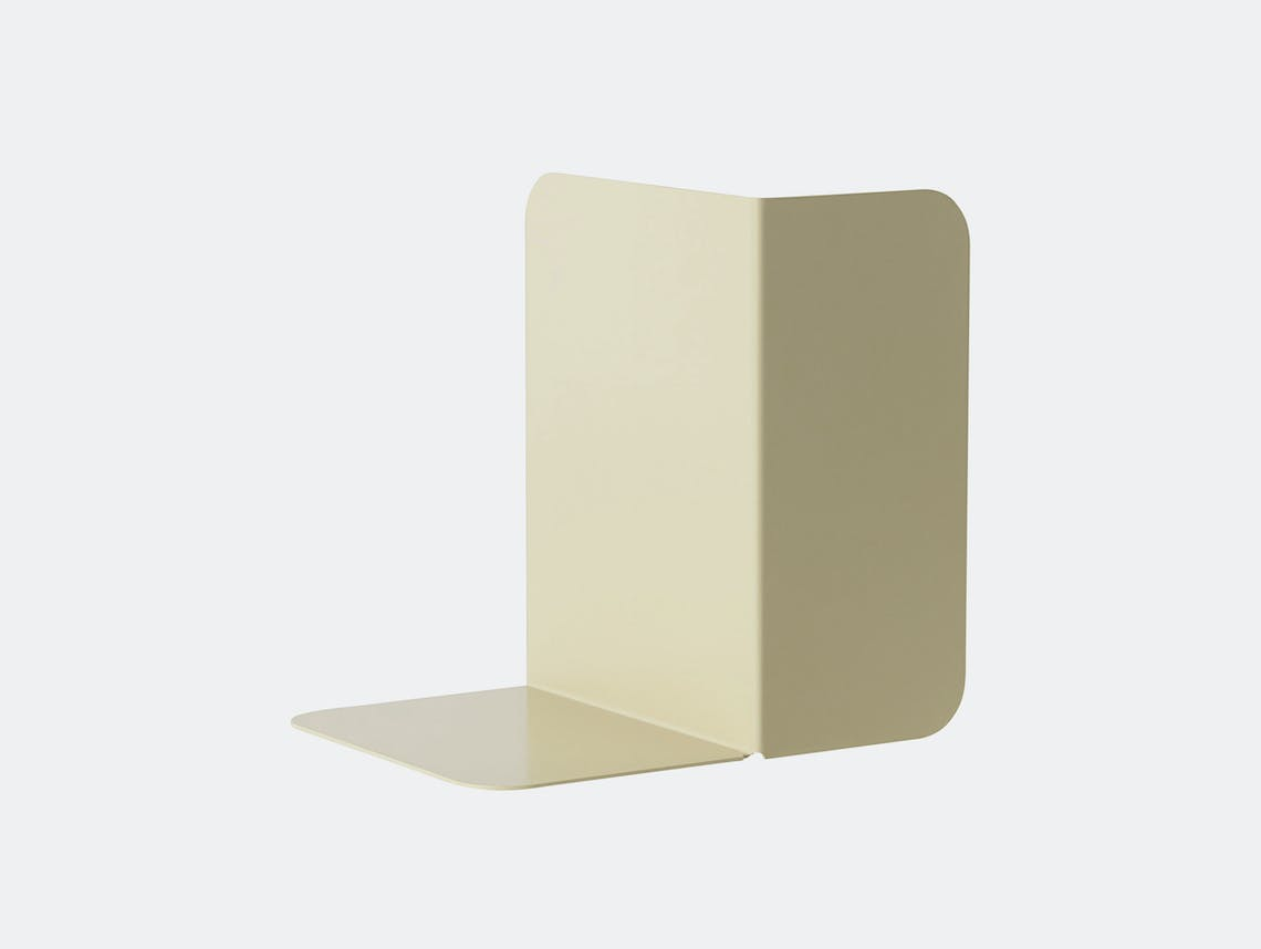 Muuto Compile Bookend Green Beige Cecilie Manz