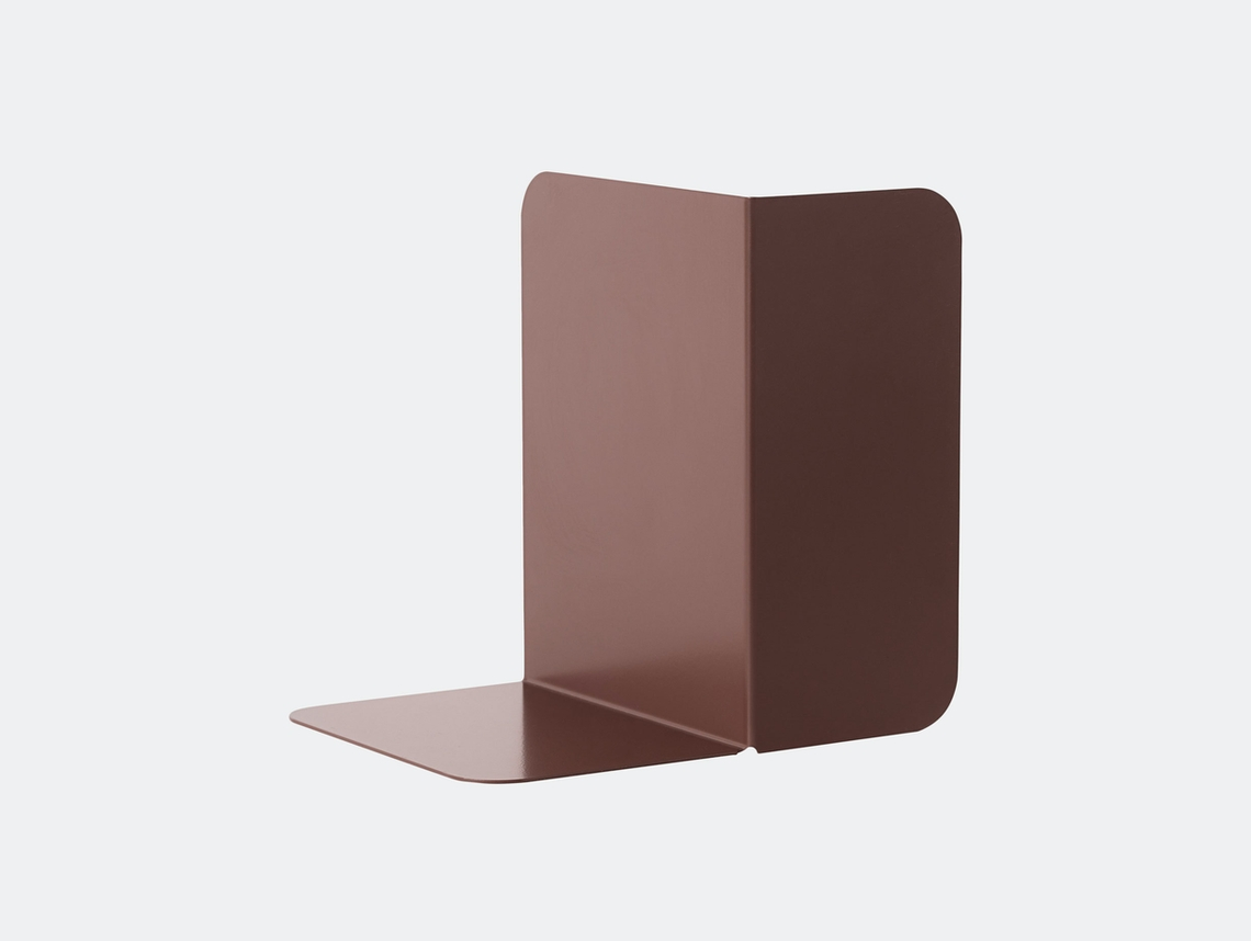 Muuto Compile Bookend Plum Cecilie Manz
