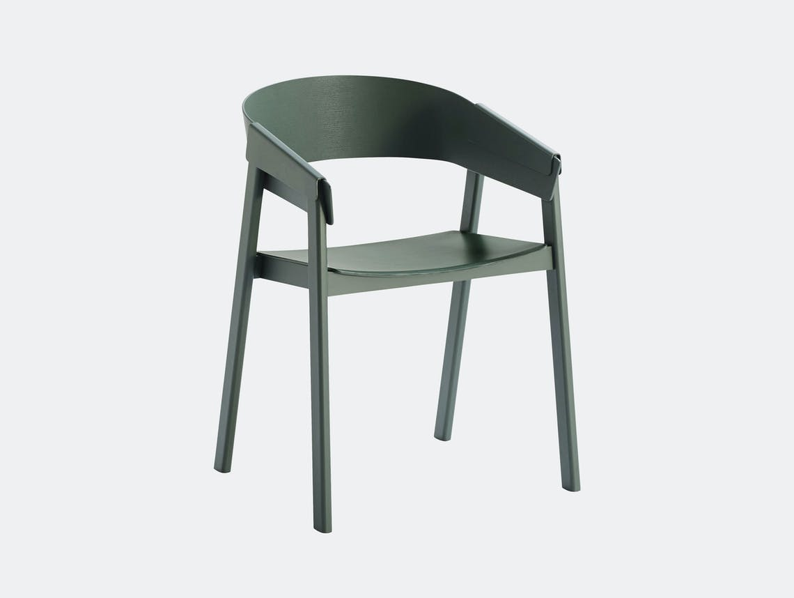 Muuto Cover Chair Green Thomas Bentzen
