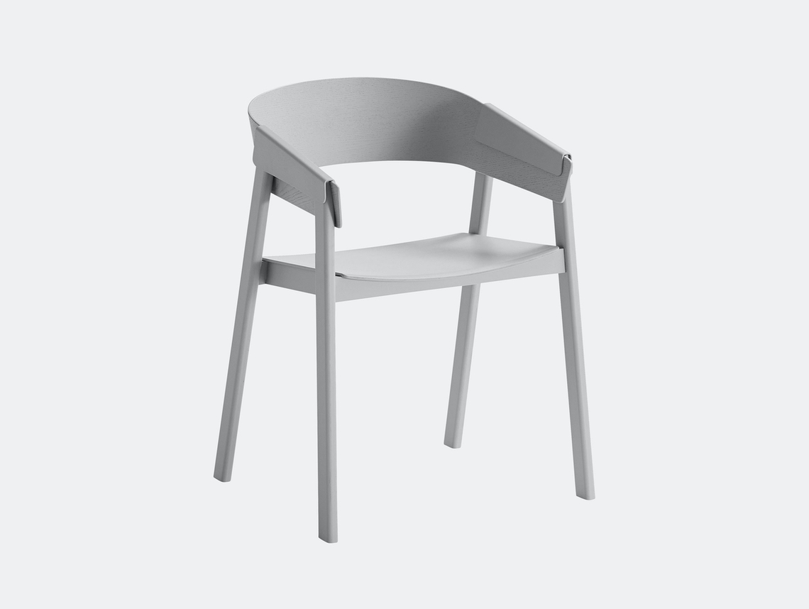 Muuto Cover Chair Grey Thomas Bentzen